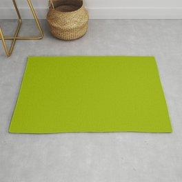 High Mileage ~ Leaf Green Rug