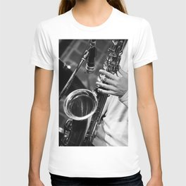 Jazz and Saxophone T-shirt