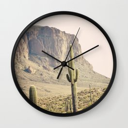 Superstitious Mountain Wall Clock
