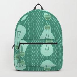 Green light pattern  Backpack