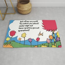 Lorax quote Rug