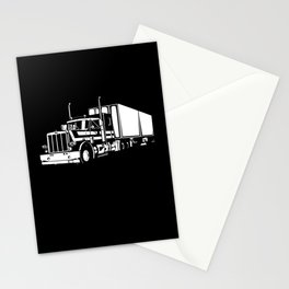 My Favorite Trucker Motif Stationery Cards
