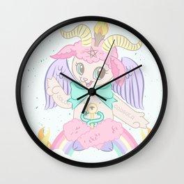 Born Again Satanist Wall Clock