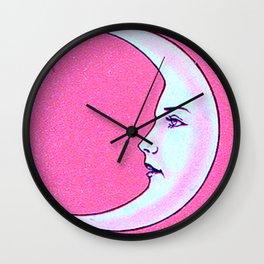 Luna Tarot PINK Wall Clock