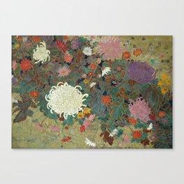 flower【Japanese painting】 Leinwanddruck