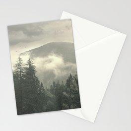 Carpathian Mountains - Transylvanian Alps Stationery Cards