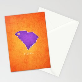 Clemson Tigers Stationery Cards