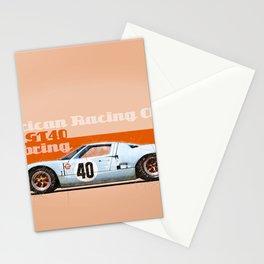 GT40 at Sebring Stationery Cards