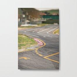 sport track at the autodrome Metal Print