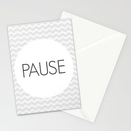 Take a Pause Stationery Cards