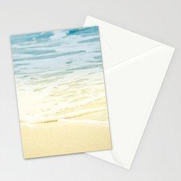 Kapalua Beach dream colours sparkling golden sand seafoam Maui Hawaii Stationery Cards