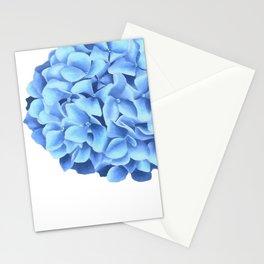 Hydrangea, Big blue flower Stationery Cards