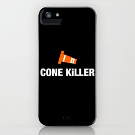 Cone Killer v3 HQvector iPhone Case