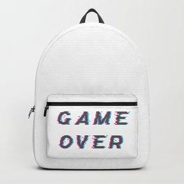 Glitch Game Over Backpack