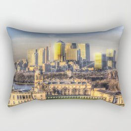Canary Wharf London Rectangular Pillow