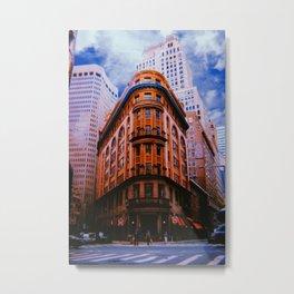 New York City // Retro 56 Metal Print