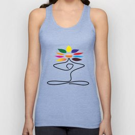 Love for yoga Unisex Tank Top