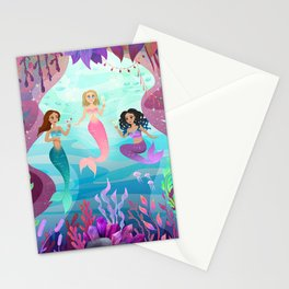 Mermaid Party Stationery Cards