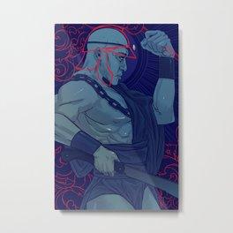 Jorge is Ogum Metal Print