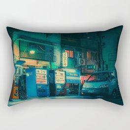 Ambient- Japan Night Photo Rectangular Pillow