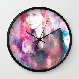 Tribute to Naya Rivera Wall Clock