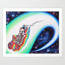 10,000 Space Odyssey Art Print