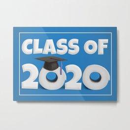 Class of 2020 Toilet Paper Rolls Metal Print