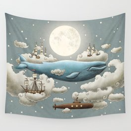 Ocean Meets Sky Wandbehang