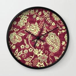 indie patterns Wall Clock