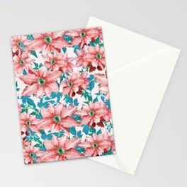 Myra #floral #pattern #digitalart Stationery Cards