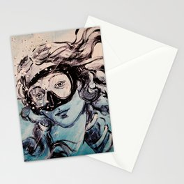 Underwater Birth of Venus Stationery Cards