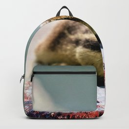 Talk to the Hand by OLena Art Backpack