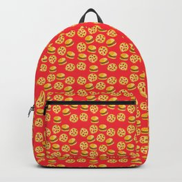 Burger or pizza Backpack