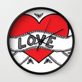 Declare your love! Wall Clock