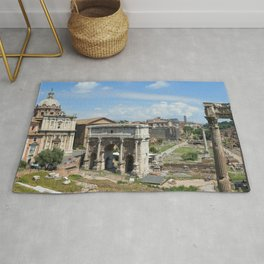 Roman Forum (Rome, Italy) Rug