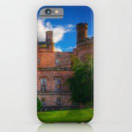 Dalhousie Castle of Scotland iPhone Case