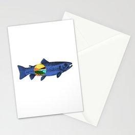Fish Montana Stationery Cards