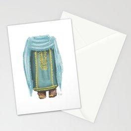 Omani Lady | Blue  Stationery Cards