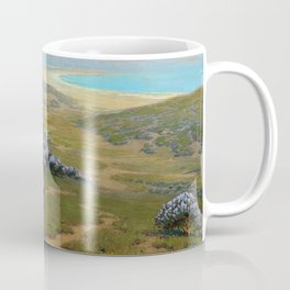 Monterey Dunes, Bush Lupine, California Coast by John Marshall Gamble Coffee Mug
