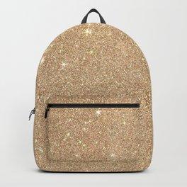 Gold Glitter Chic Glamorous Sparkles Backpack
