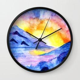 Natural Rainbow Wall Clock