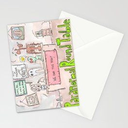 Paranormal Round Table - We own the Night Stationery Cards