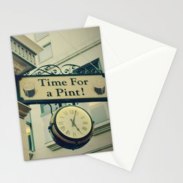 It's time for a pint! Sign - Fine Art Photography Stationery Cards