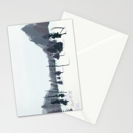 Breathe In The Winter View Stationery Cards