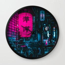 Japanese Cyberpunk Wall Clock