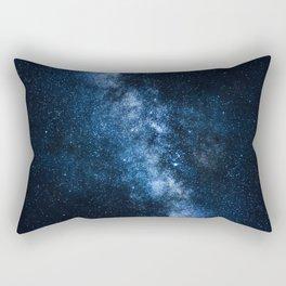 Cobalt Milky Way Rectangular Pillow