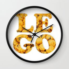 LE GO Wall Clock