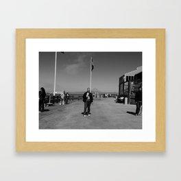 The loner Framed Art Print
