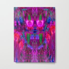 The Seer of The Ether Realm Metal Print