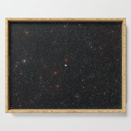 Hubble Space Telescope - Wide-Field View of NGC 2525 Serving Tray